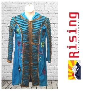Rising International Artsy Hooded Jacket